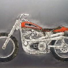 XR750 Dirt Track Racer