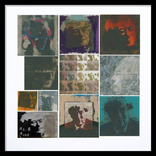 Seamus Heaney Framed